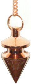 Copper Finish, Pointed Pendulum
