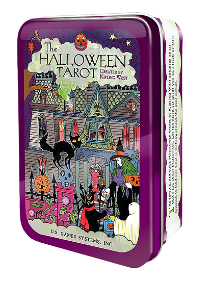 Halloween Tarot in Tin