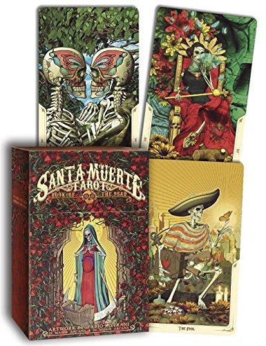 Santa Muerte Tarot Deck: Book of the Dead Cards
