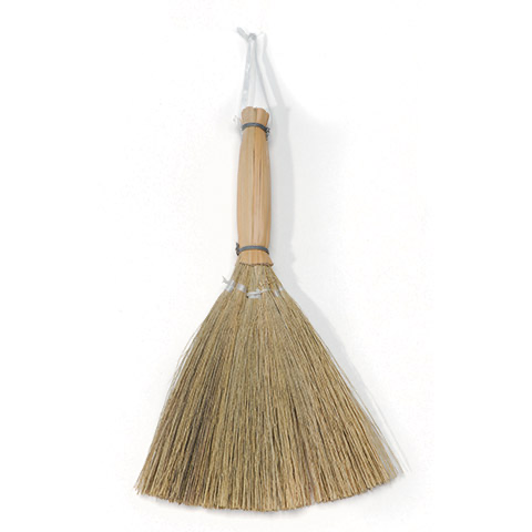 Natural Baguio Reed Broom