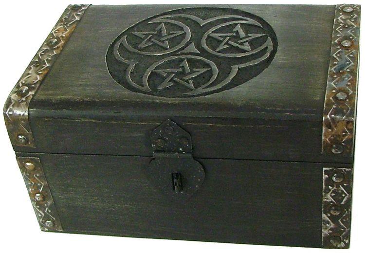 Triple Pentagram with latch