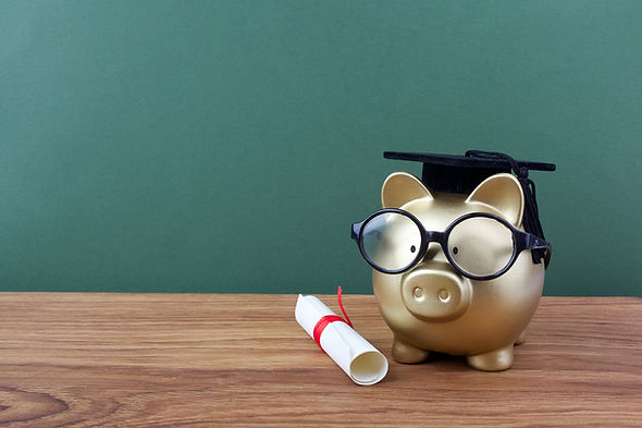 bigstock-Gfold-Piggy-Bank-With-A-Grad-C-