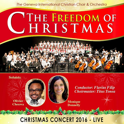 "DVD Concert 2016 ""The Freedom Of Christmas"""