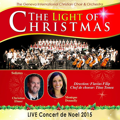 "DVD Concert 2015 ""The Light Of Christmas"""