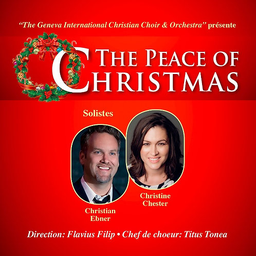 "CD Concert 2014 ""The Peace Of Christmas"""