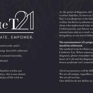 Celebrate T21
