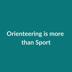 Orienteering is more than Sport (2)