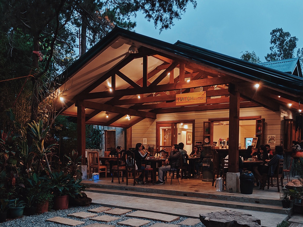 Hatch Coffee in Baguio City, Philippines