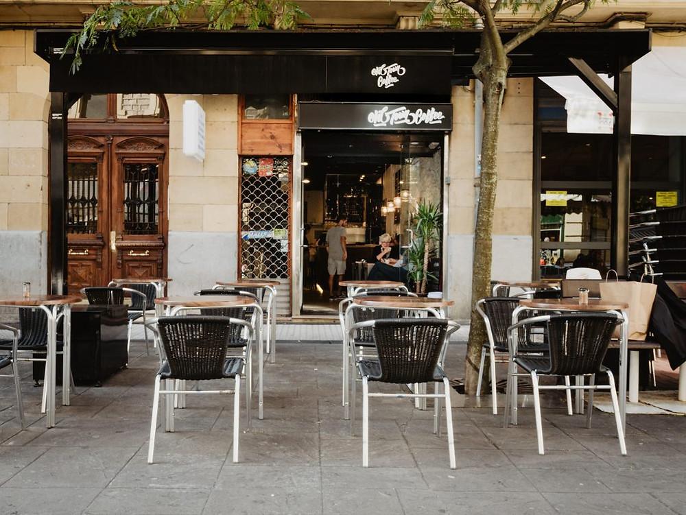 Old Town Coffee in San Sebastián - Donostia, Spain