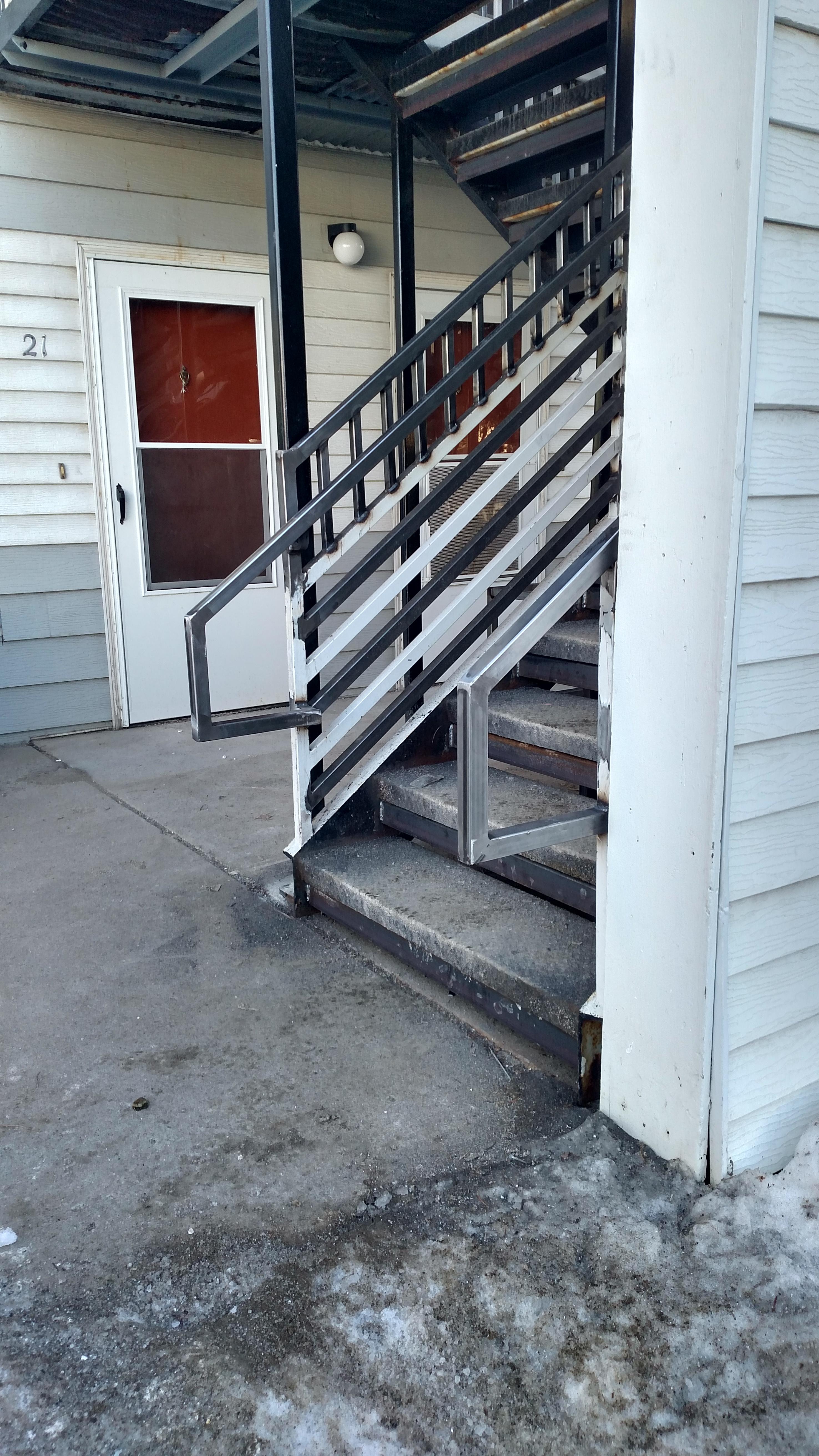 railing code update