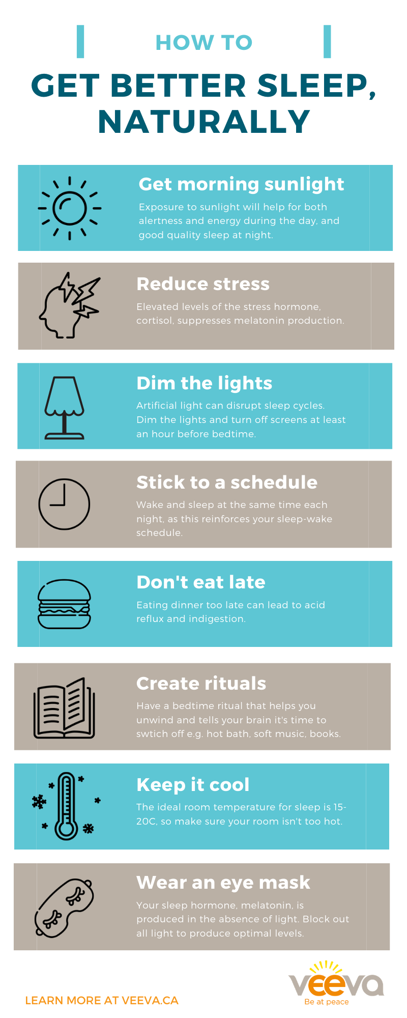 how to get better sleep and improve sleep