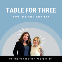 NEW PODCAST - Table for three - You, me and anxiety