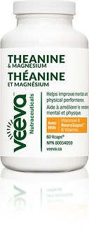 Veeva Nutraceuticals - Theanine & Magnes