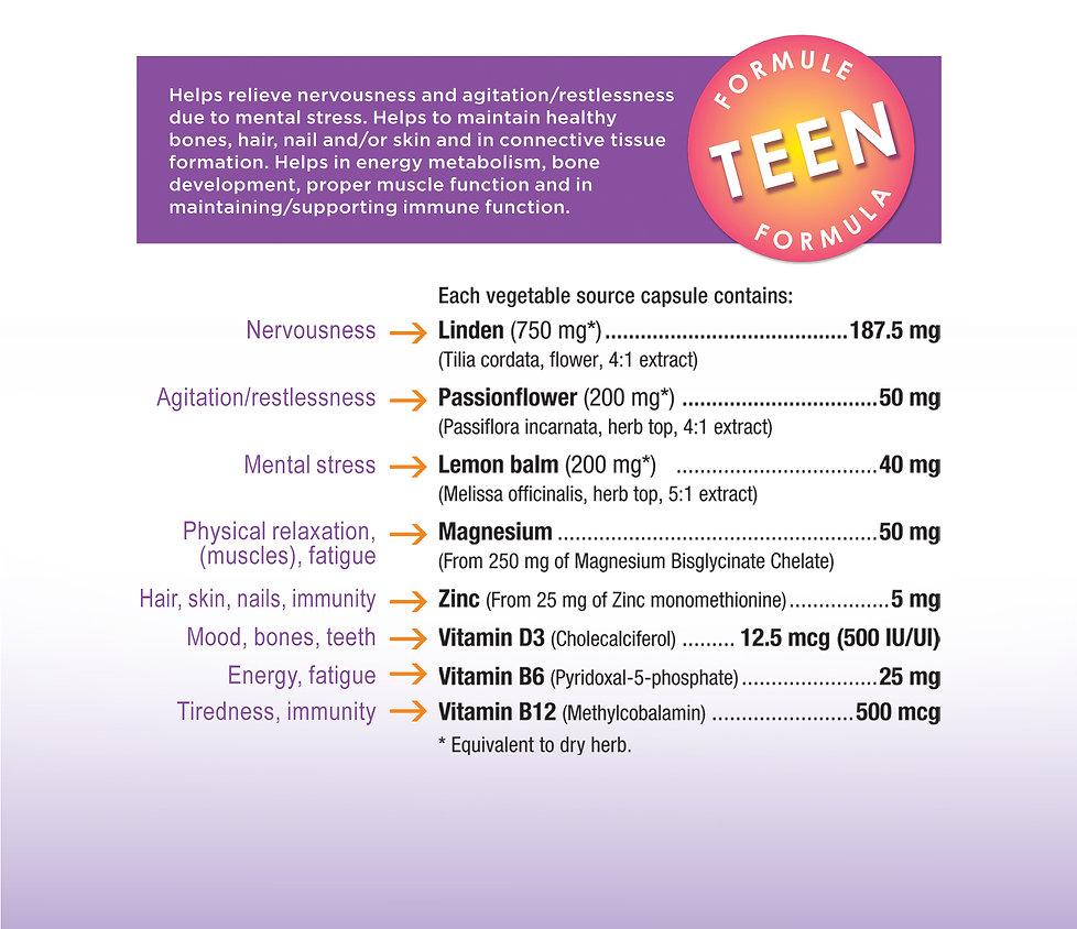 Veeva Teen Formula