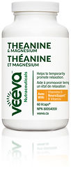 Veeva Nutraceuticals - Theanine & Magnes