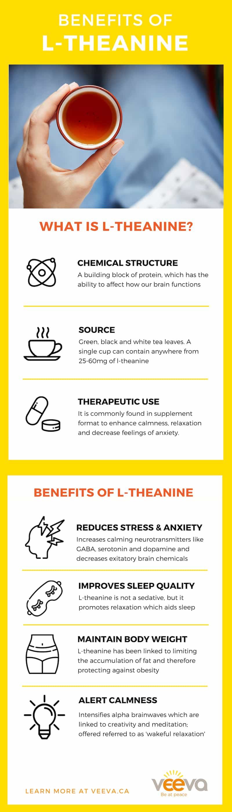 L-theanine benefits