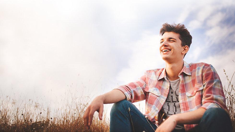 Happy Teenager