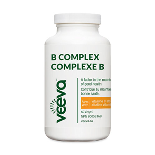 Advanced B Complex with Alkaline C 60 Vcaps