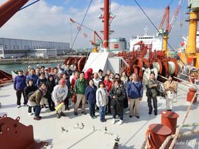 2017年度 課外活動 工場をこの目で見よう! 北日本造船