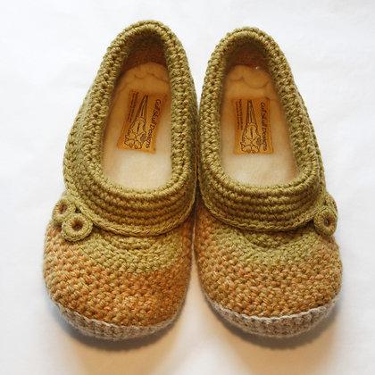 Dune Grass Feet Snuggies / Slippers