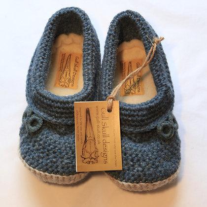 Irish Sea Feet Snuggies / Slippers