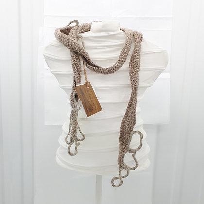 Chunky Crocheted Pebble Neck Tangle
