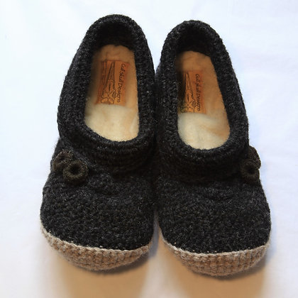 Black Rocks Feet Snuggies / Slippers