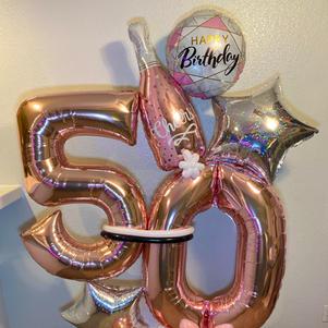 Cheers Marquee Balloon Display
