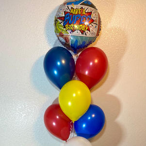 Superhero Birthday Bouquet