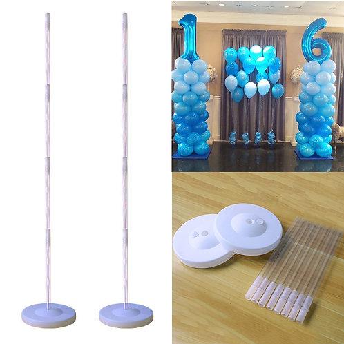 DIY Balloon Column/ DIY Non Helium Balloon Bouquet