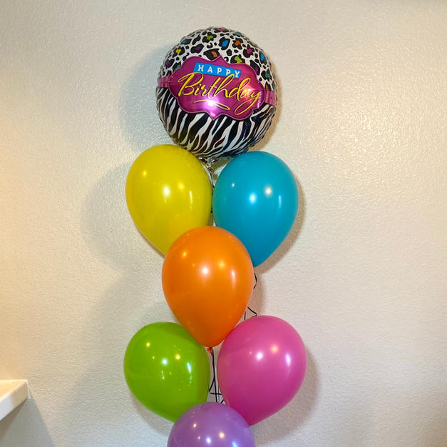 Lisa Frank Birthday Bouquet