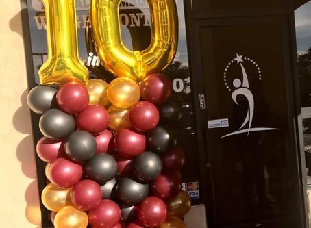 10 year celebration!