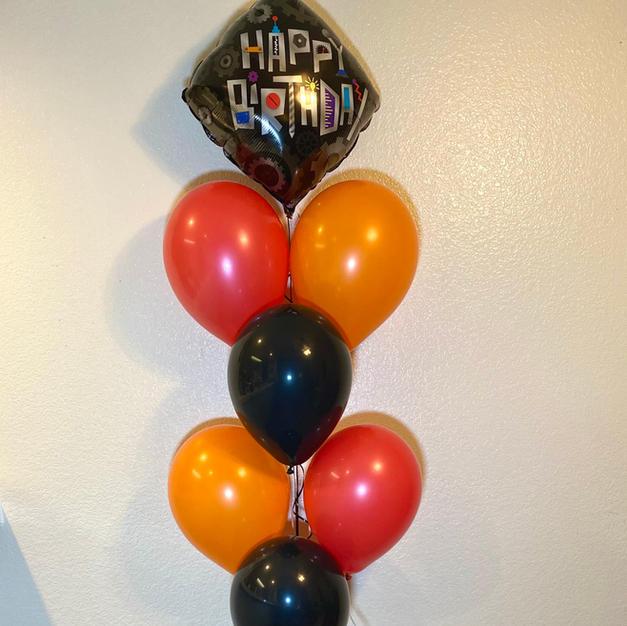 Robot Birthday Bouquet