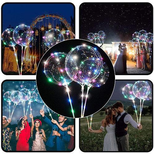 3PC LED Balloons