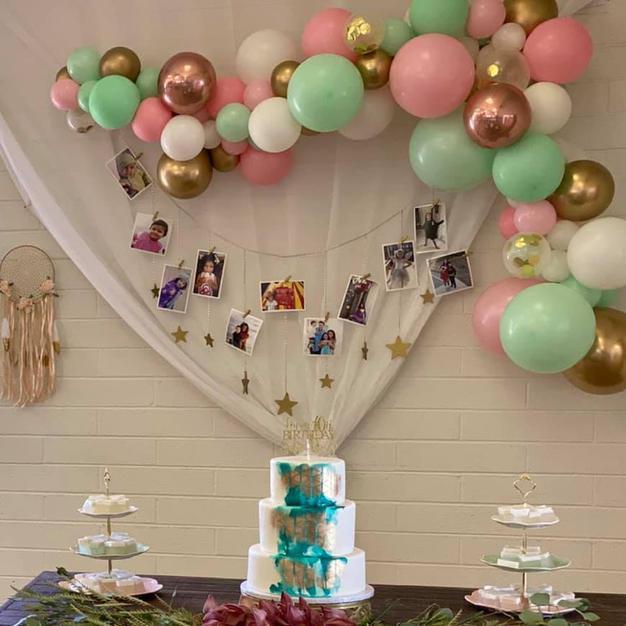7-8ft Slender Balloon Garland