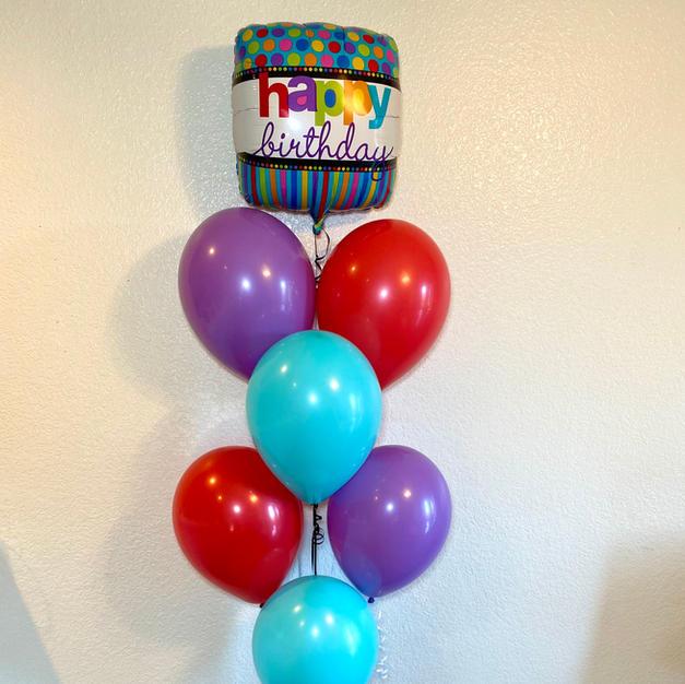 Colorful Confetti Birthday Bouquet