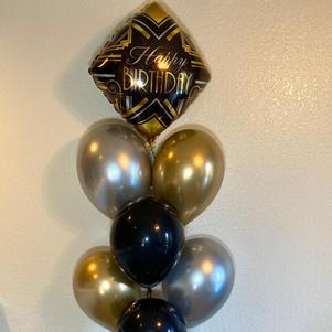 Gatsby Birthday Bouquet