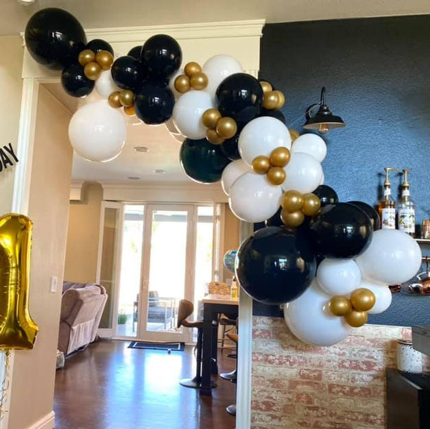 7-8ft Thick Balloon Garland