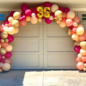Traditional Organic Balloon Arch