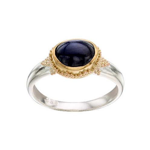 Small Blue Sapphire Ring