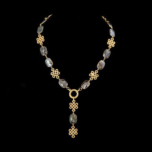 Y-style Labradorite Necklace