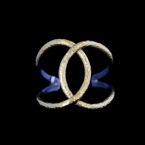 Interlocking Circles Cuff