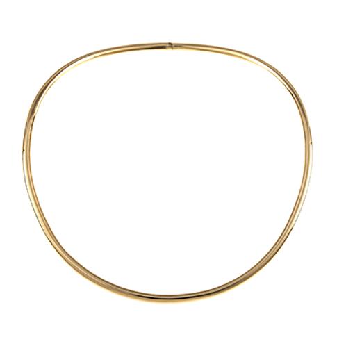 18K Tube Collar