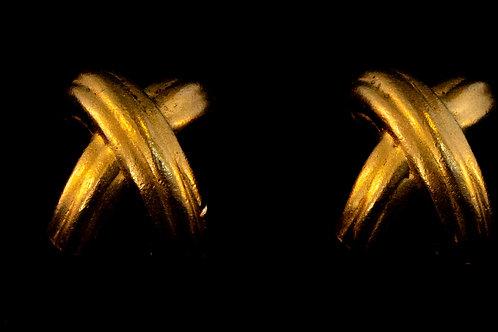 """""""X"""" Earrings"""