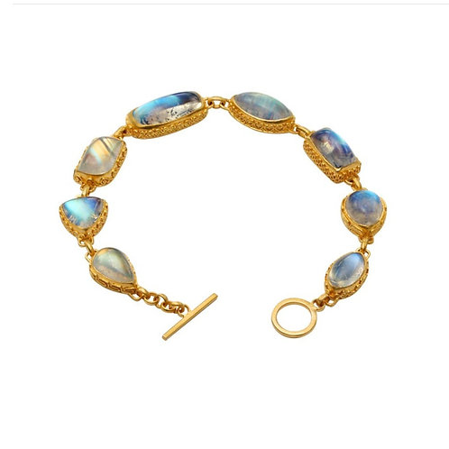 Blue Moonstone Bracelet