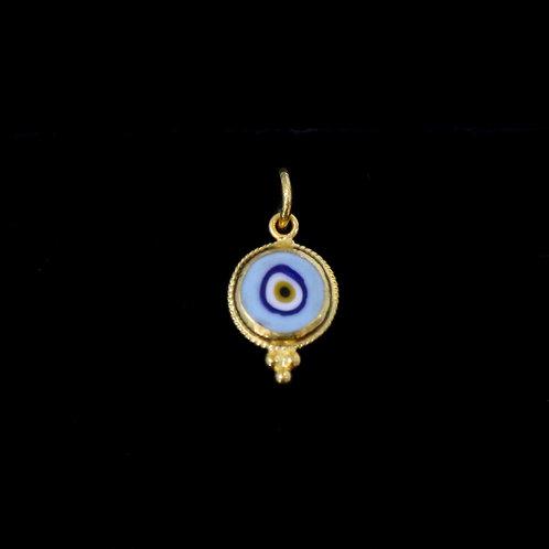 Light Blue Eye Charm