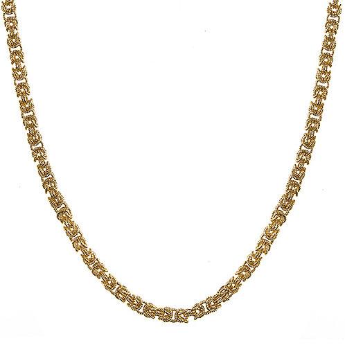 18K Yellow Byzantine Necklace