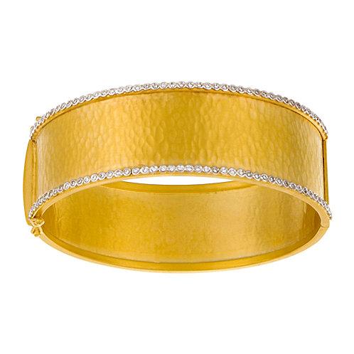 22mm Hammered Finish Bracelet