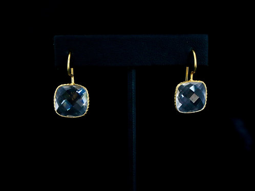 Square Crystal Earrings
