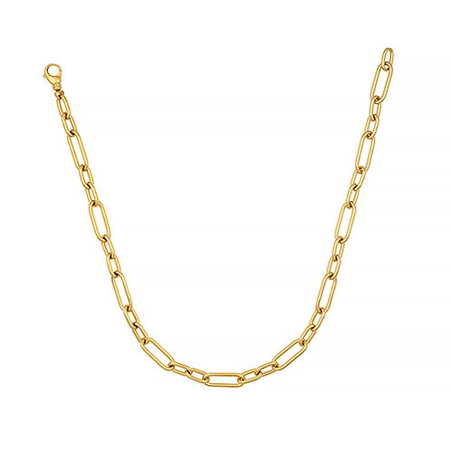 14K Link Necklace